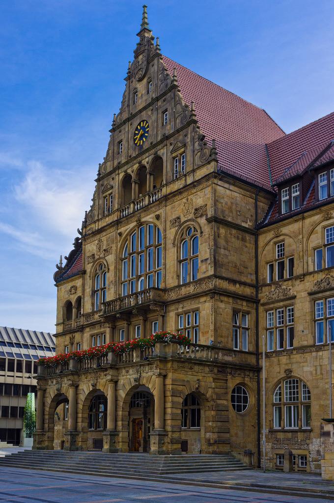 Altes Rathaus in Bielefeld | Altes Rathaus in Bielefeld.