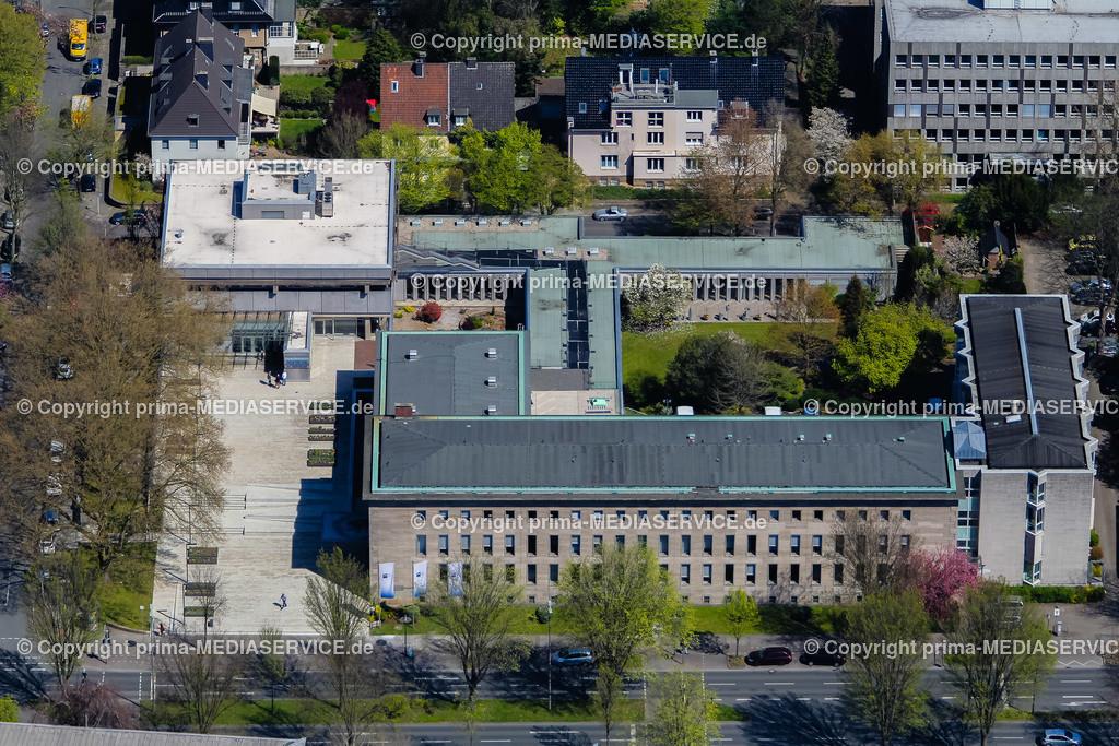 IMGL1212 | Luftbild Industrie- und Handelskammer zu Dortmund (IHK) 21.04.2015 in Dortmund (Nordrhein-Westfalen, Deutschland).  Foto: Michael Printz / PHOTOZEPPELIN.COM