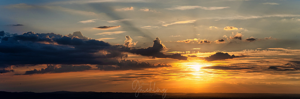 Sundown im Frühling | Sonnenuntergang am Samerberg