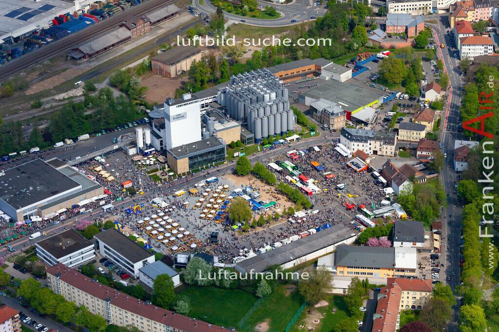kulmbach-18-80 | aktuelles Luftbild von  Kulmbach - Luftaufnahme wurde 2018 von https://frankenair.de mittels Flugzeug (keine Drohne) erstellt.