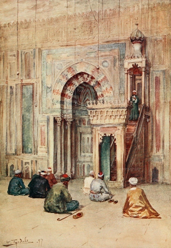 Tyndale_ W. (1855-1943) - Below the Cataracts 1907 - The sanctuary in the mosque of Sultan Hasan
