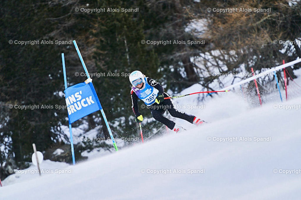 ALS5478_WWMG_GS-II_C | (C) FotoLois.com, Alois Spandl, WinterWorldMastersGames 2020 Innsbruck, Giant Slalom-II Gruppe C Damen, Patscherkofel Olympiaabfahrt, Mi 15. Jänner 2020.