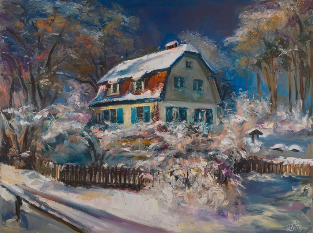 Die Wintervilla | Originalformat: 60x90cm  -   Produktionsjahr: 2008