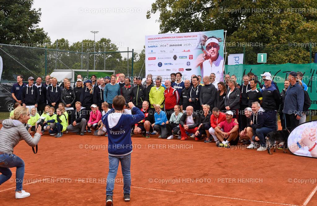 Tennis Benefiz Veranstaltung beim TEC Darmstadt 20190907 copyright by HEN-FOTO | Tennis Benefiz Veranstaltung beim TEC Darmstadt 20190907 Gruppenfoto copyright by HEN-FOTO Foto: Peter Henrich