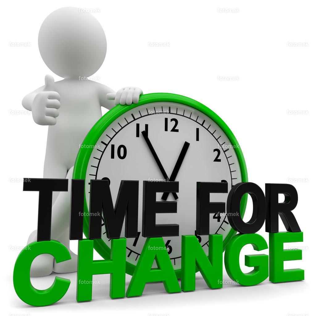 3d Männchen Time for Change | 3d Männchen Time for Change