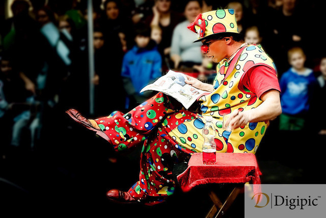 Circus Picard Clown 1 -Vorschaubild | Clown Zirkus Picard
