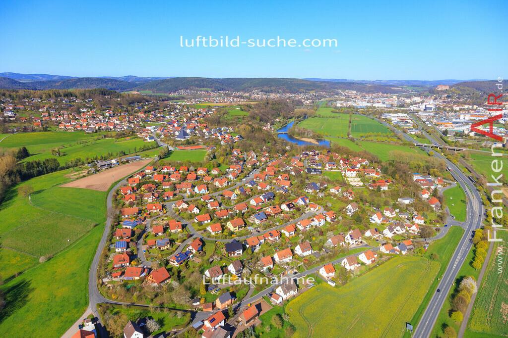kulmbach-2016-3197   Luftbild von  Kulmbach - Luftaufnahme wurde 2016 von https://frankenair.de mittels Flugzeug (keine Drohne) erstellt - die Geschenkidee