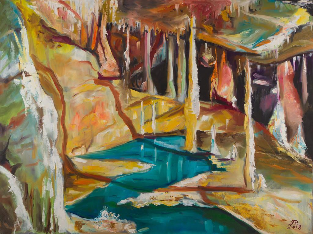 Grotta die Frasassi - Barbara Saal | Originalformat: 60x80cm  -   Produktionsjahr: 2008