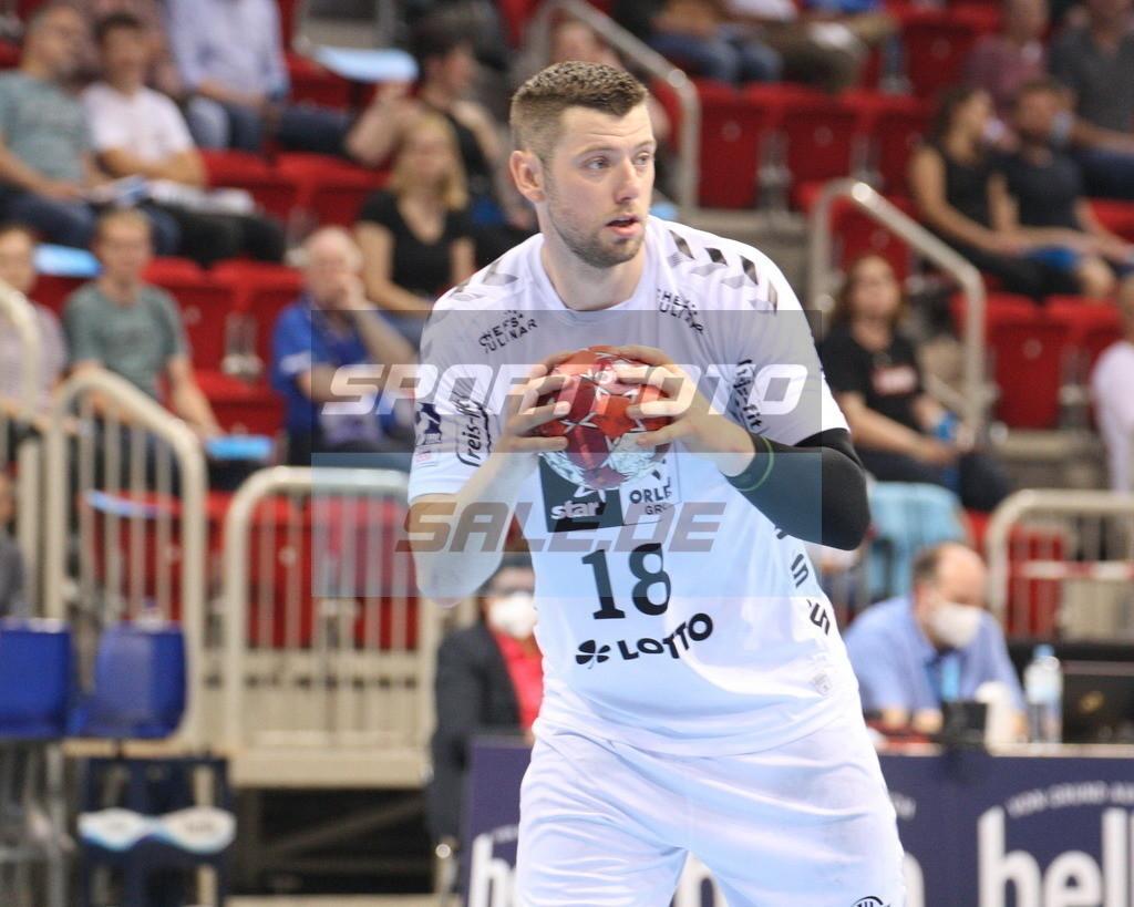 Handball Supercup   Niclas Ekberg - © by K-Media-Sports / Sportfoto-Sale.de