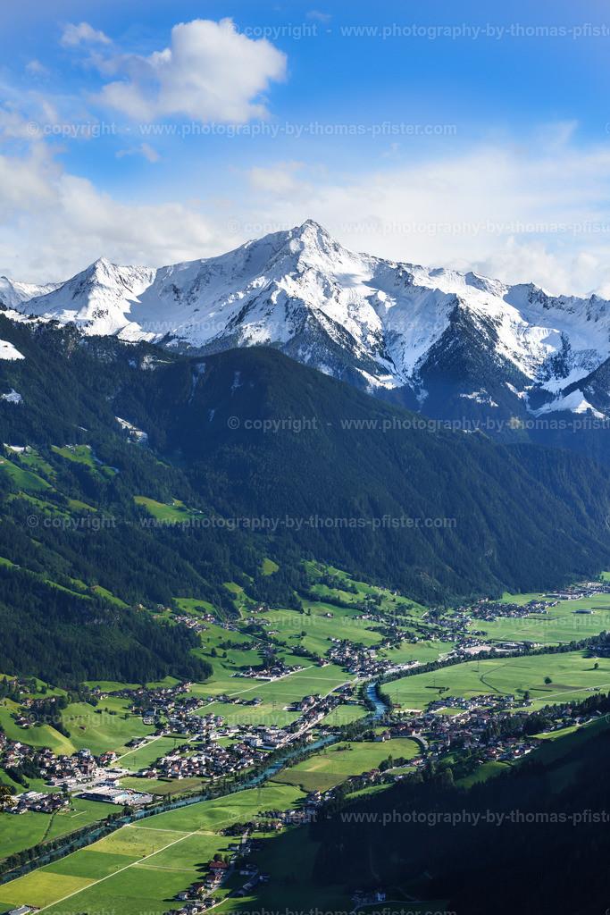 Blick von der Zillertaler Höhenstrasse-1