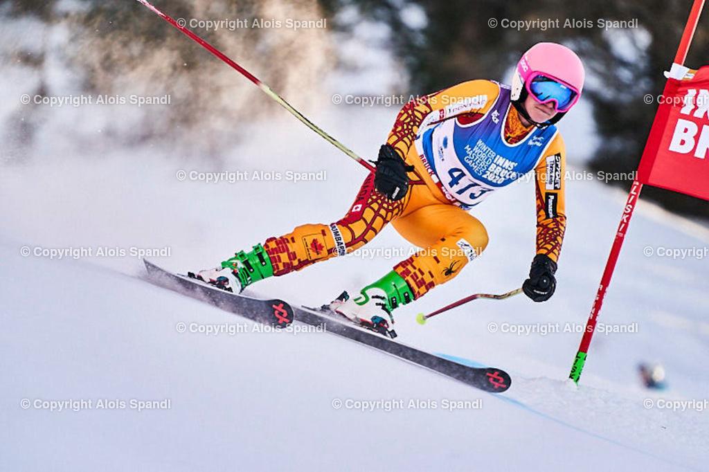 ALS6055_WWMG_GS-II_C | (C) FotoLois.com, Alois Spandl, WinterWorldMastersGames 2020 Innsbruck, Giant Slalom-II Gruppe C Damen, Patscherkofel Olympiaabfahrt, Mi 15. Jänner 2020.