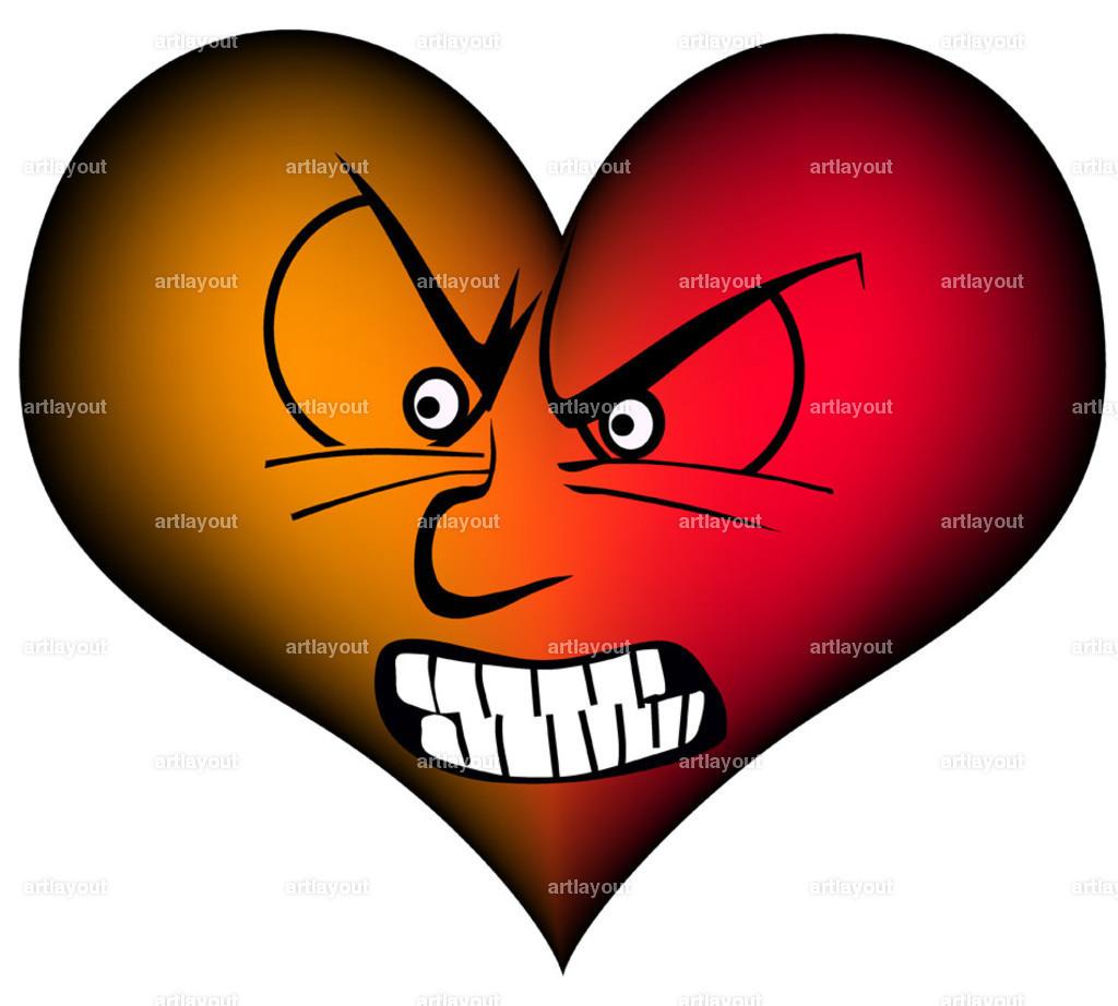 very furious heart