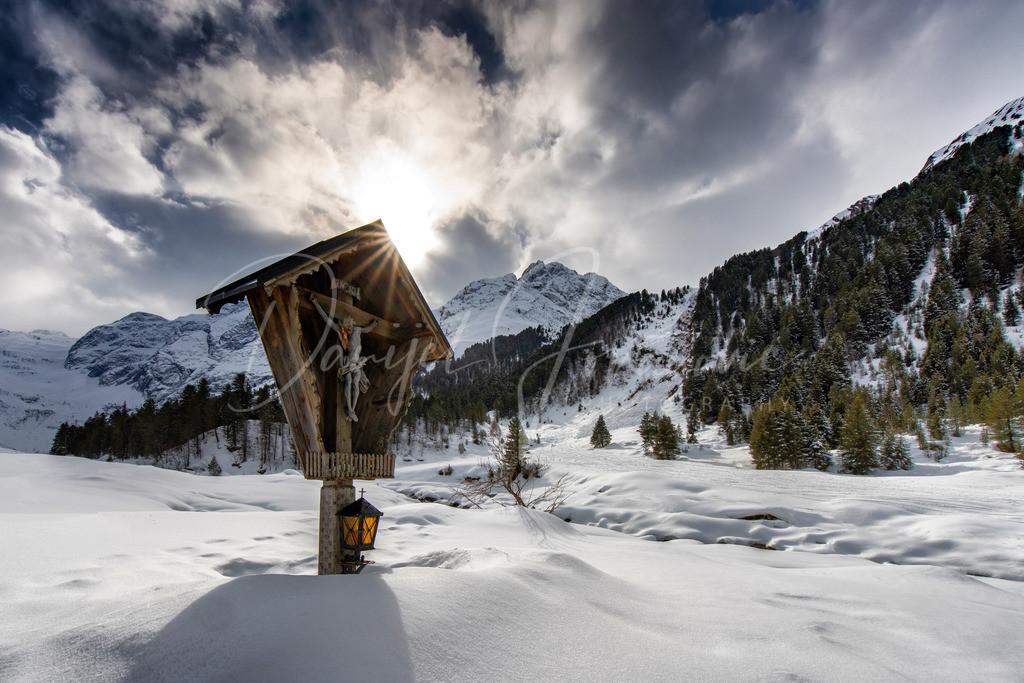 Lüsens   Wunderschöner Winter in Lüsens