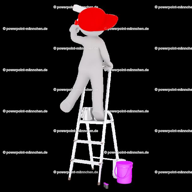 painter painting on the wall | https://3dman.eu jetzt 250 Bilder gratis sichern