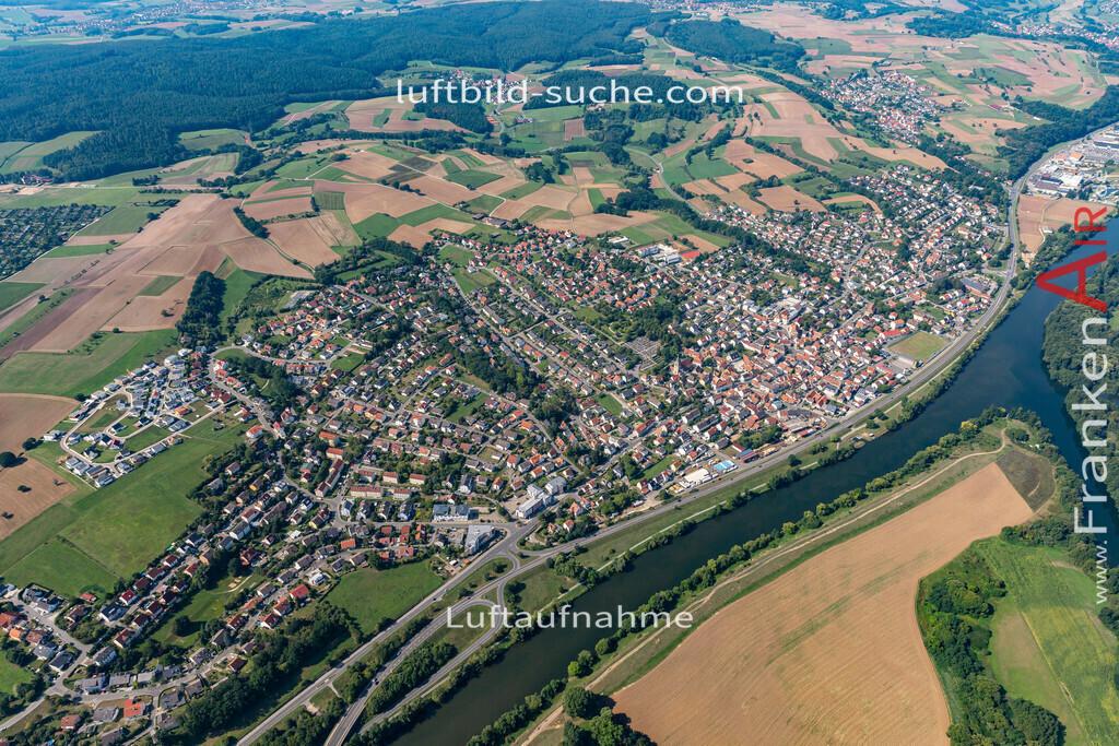 bischberg-19-301 | aktuelles Luftbild von  Bischberg - Luftaufnahme wurde 2019 von https://frankenair.de mittels Flugzeug (keine Drohne) erstellt.