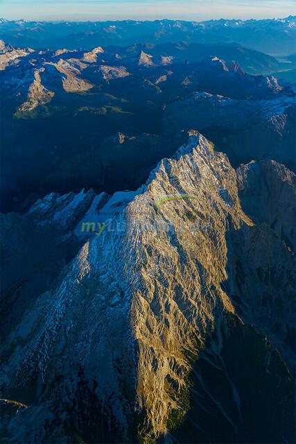 luftbild-watzmann-bruno-kapeller-02 | Luftaufnahme vom Watzmann 2713m