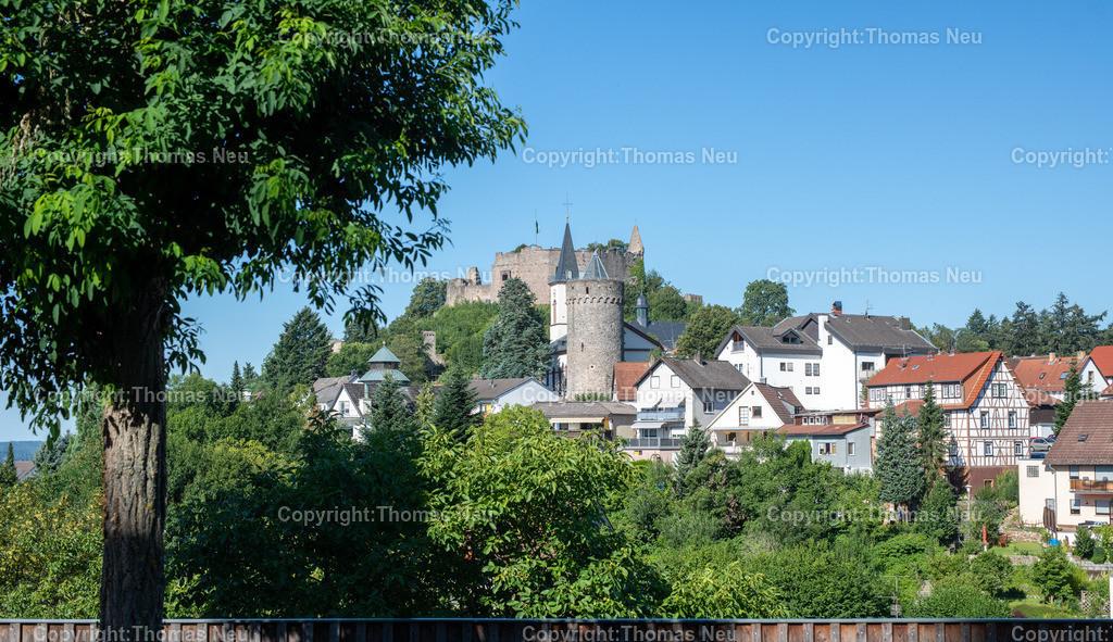 DSC_1809 | Lindenfels,  Burg und Kirche, Panorama, , Bild: Thomas Neu
