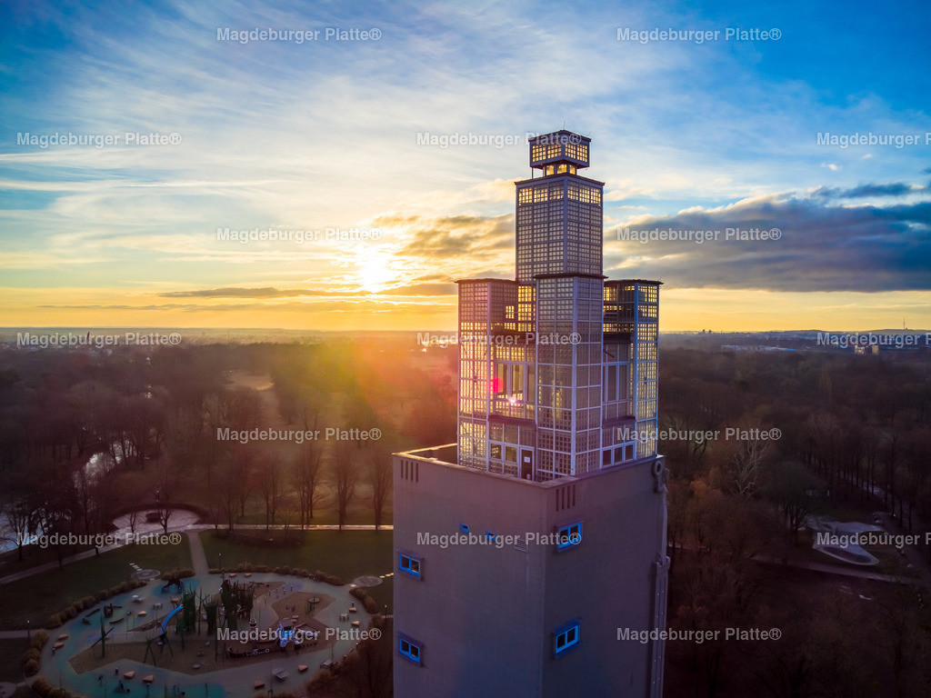 Magdeburg Aussichtsturm-