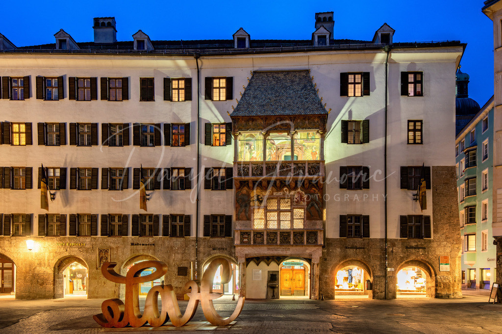 Innsbruck | Goldenes Dachl und Innsbruck #love