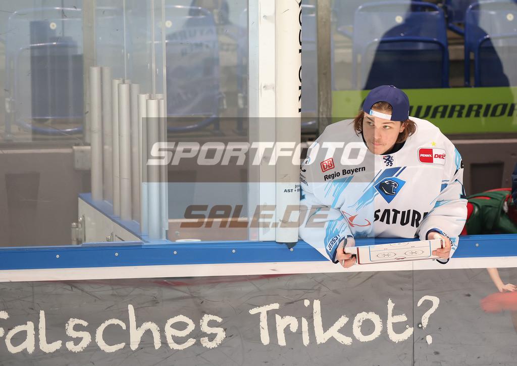 Iserlohn Roosters - ERC Ingolstadt | Torhüter Jonas Stettmer  DEL: Iserlohn Roosters - ERC Ingolstadt