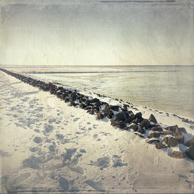 Winter auf Nordstrand