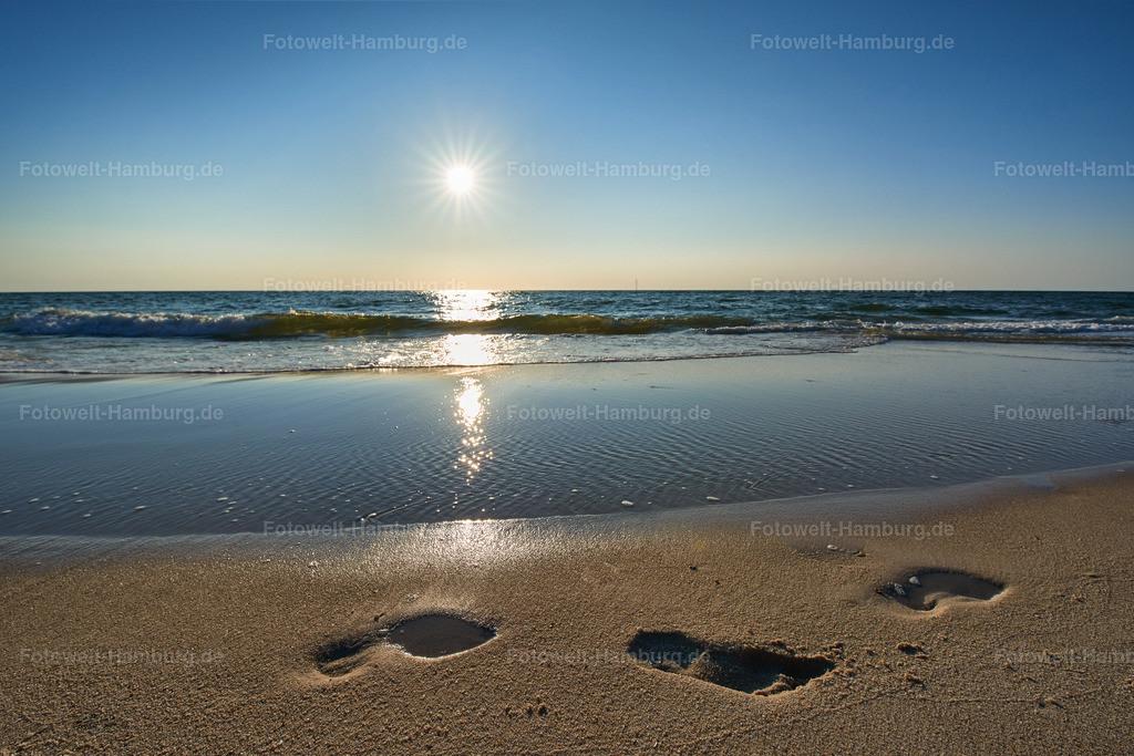 10180807 - Fußspuren im Sand | Spuren am Strand von Westerland / Sylt