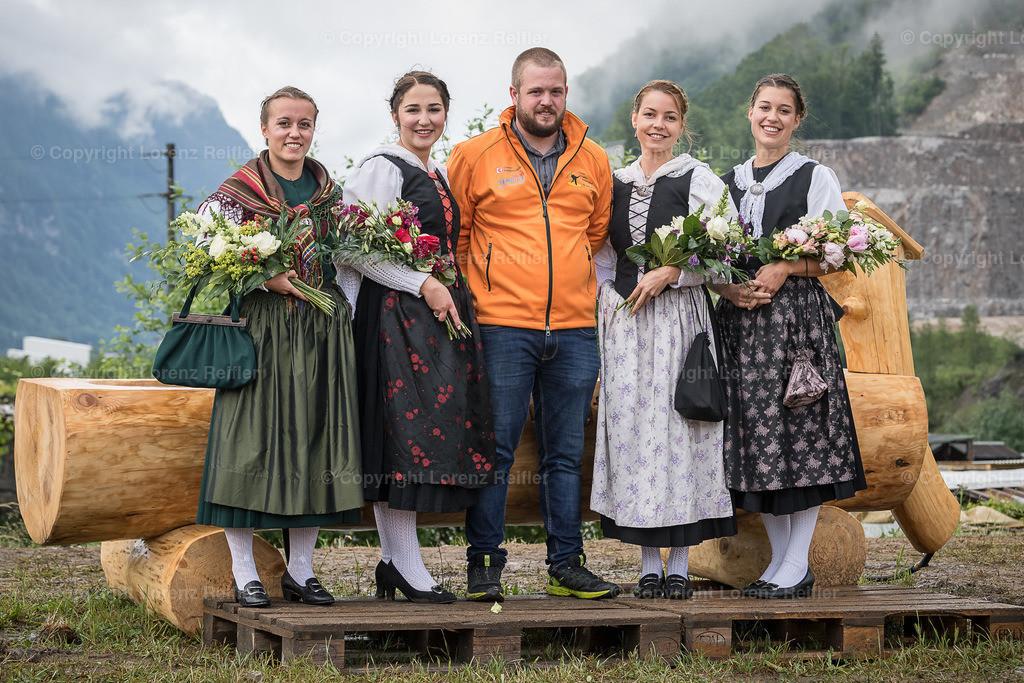 Schwingen -  Glarner-Bündner Kantonal 2019   Glarus, 10.6.19, Schwingen - Glarner-Bündner Kantonal. (Lorenz Reifler)