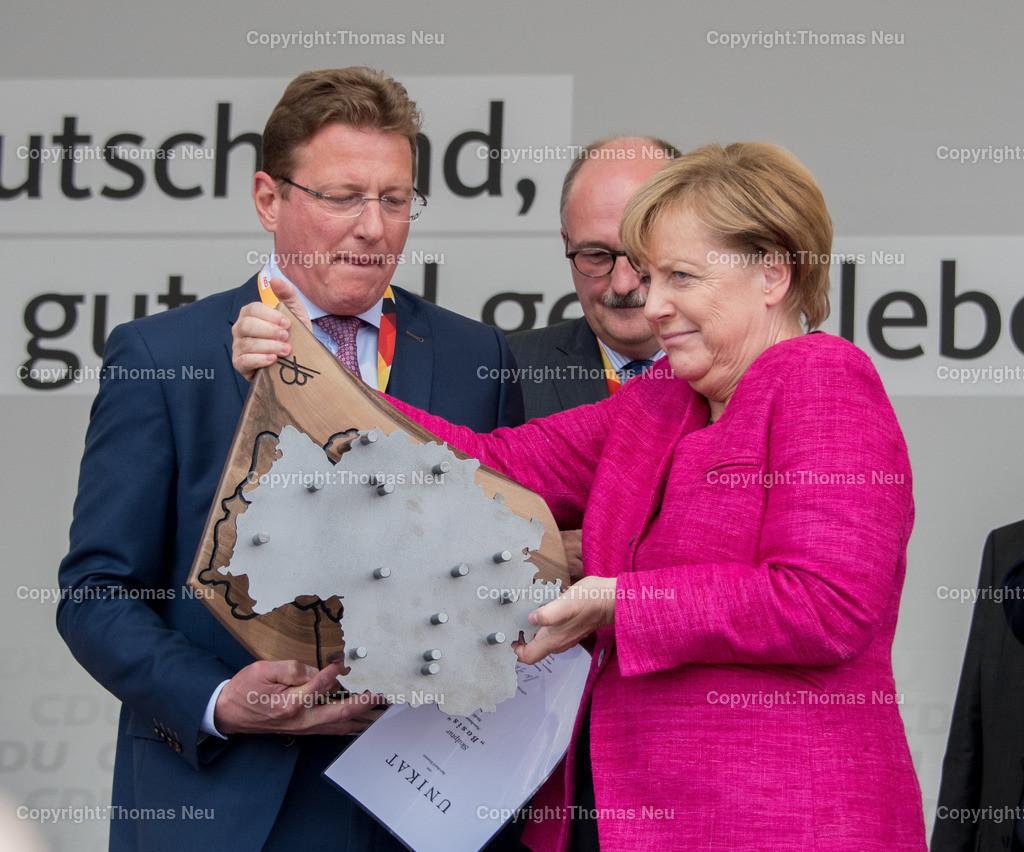 DSC_7982 | Heppenheim, Wahlveranstaltung, CDU, Angela Merkel auf dem parkhof, umfrage, ,, Bild: Thomas Neu