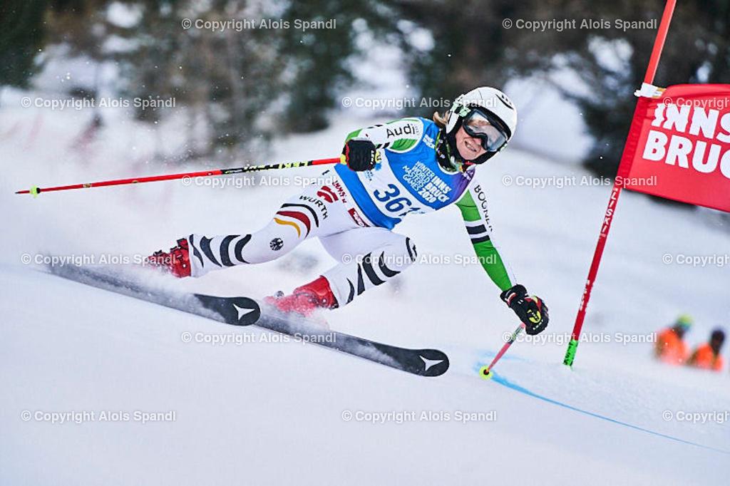 ALS5453_WWMG_GS-II_C | (C) FotoLois.com, Alois Spandl, WinterWorldMastersGames 2020 Innsbruck, Giant Slalom-II Gruppe C Damen, Patscherkofel Olympiaabfahrt, Mi 15. Jänner 2020.