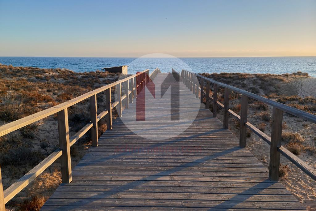 Naturschutzgebiet an der Algarve in Portugal