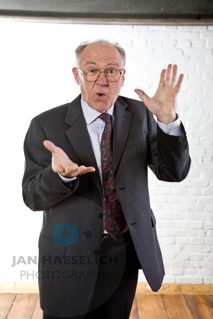 Heinz Choynski   Fototermin zur ARD Vorabendserie