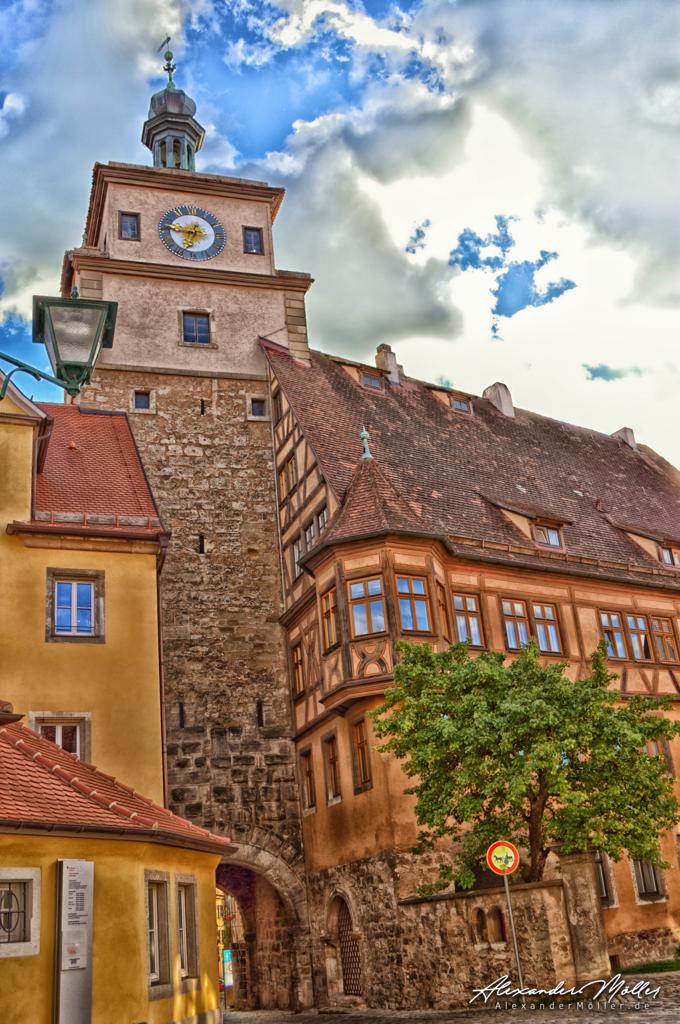 Rothenburg ob der Tauber No.17 | Rothenburg ob der Tauber - Hochwertige Bilder von Alexander Möller. Verschiedene Formate und Fotoprodukte im AlexanderMöller.de Bildershop