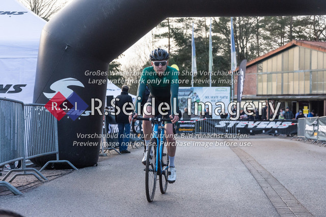 Radsport, Stevens Cyclocross Cup 2019, 10. Lauf (RSG Nordheide), Rennen 9 (Elite Herren + U23, Masters 2 / Elite Ü40 und Junioren U19), Buchholz i.d.N., 19.01.2020 | Rasmus Gøtke (Skrænten CC, #24, Elite)