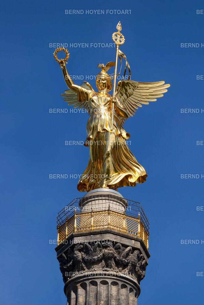 victoria | Foto der Siegessäule in Berlin, Deutschland / digital leicht nachbearbeitet. | Photo of the Victory Column in Berlin, Germany / digitally slightly reworked.
