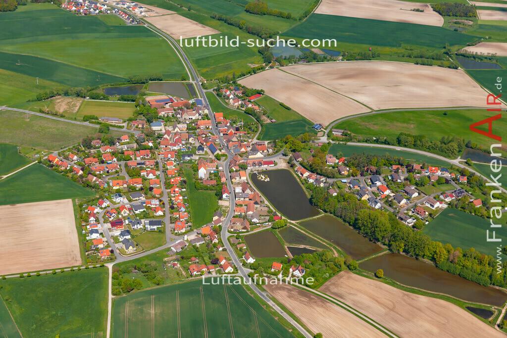 birnbaum-19-297   aktuelles Luftbild von Birnbaum  - Luftaufnahme wurde 2019 von https://frankenair.de mittels Flugzeug (keine Drohne) erstellt.