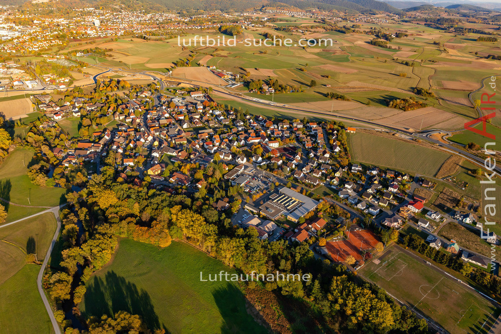melkendorf-kulmbach-18-362 | aktuelles Luftbild von Melkendorf Kulmbach - Luftaufnahme wurde 2018 von https://frankenair.de mittels Flugzeug (keine Drohne) erstellt.