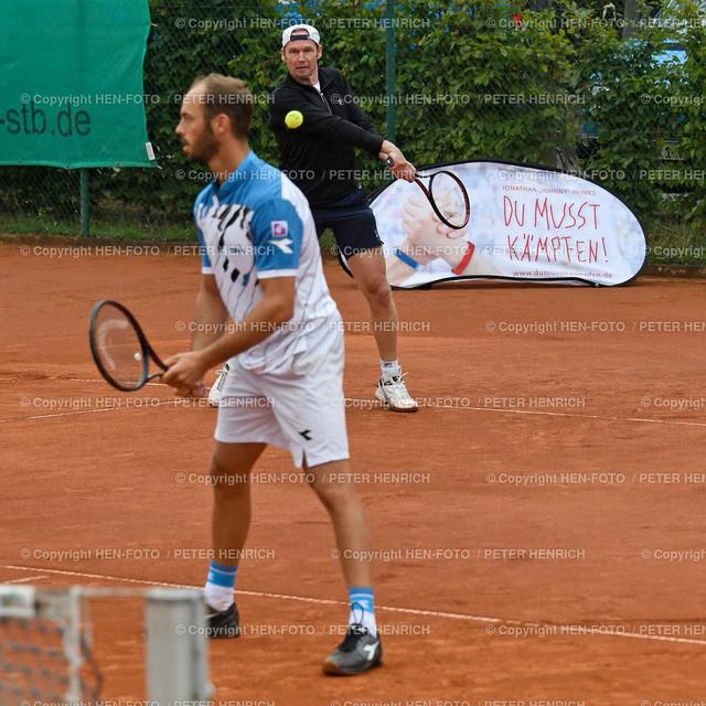 Tennis Benefiz Veranstaltung beim TEC Darmstadt 20190907 copyright by HEN-FOTO   Tennis Benefiz Veranstaltung beim TEC Darmstadt 20190907 Doppel mit Pütz Schüttler copyright by HEN-FOTO Foto: Peter Henrich