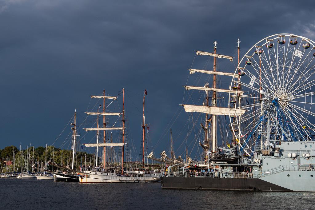 rk_05624 | Segelschiffe auf der Hanse Sail in Rostock.