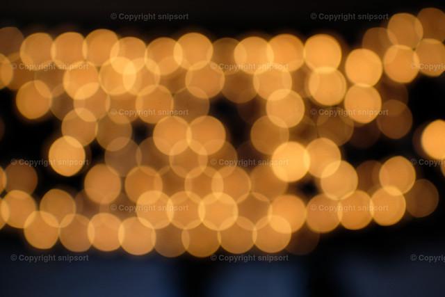 Verwischte Lichter | Konzept von weichen Hintergrundlichtern mit Bokeh-Effekt.