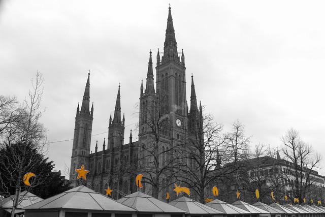 Wiesbadener Sternschnuppenmarkt | Wiesbadener Sternschnuppenmarkt. Weihnachtsmarkt in Wiesbaden.