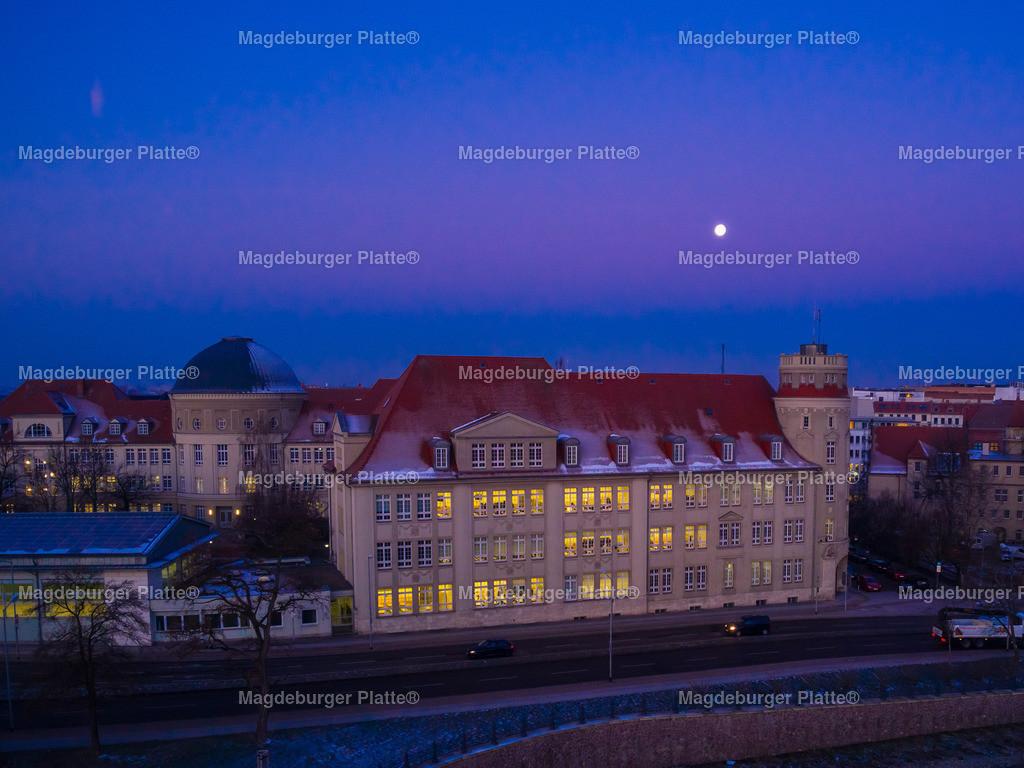 Magdeburg Sonnenaufgang Hegelgymnasium-0004