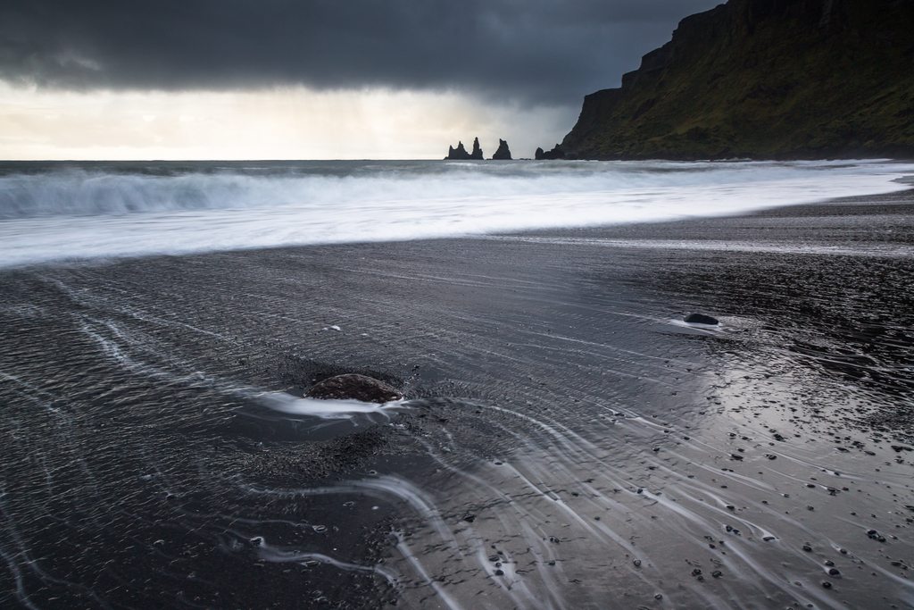 Guardians | The famous basalt formations at the beach of Vík í Myrdal, Iceland. This village is even the southernmost one on the island.