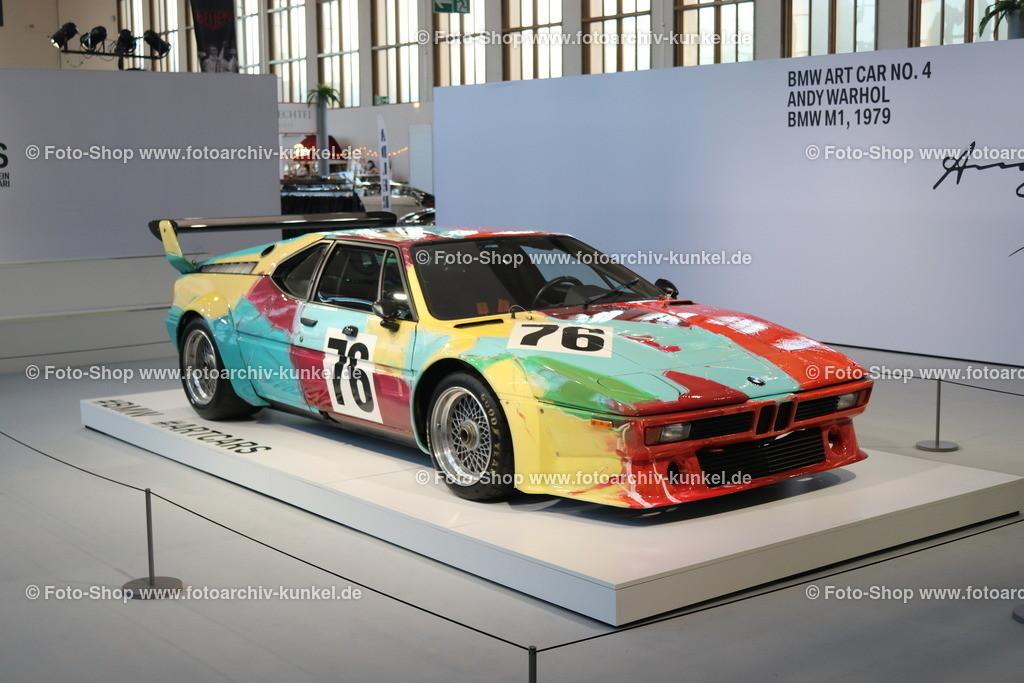 BMW M1 Coupé, BMW Art Car No. 4 Andy Warhol, 1979 | BMW M1 Coupé 2 Türen, Baujahr 1979, Typ E 26, Bauzeit des M1: 1978-81, Wagen-Nummer 76, BMW Art Car No. 4, mit künstlerischem Design von Andy Warhol, Hersteller: BMW, BRD