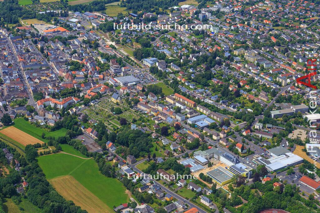 wunsiedel-2016-3776 | Luftbild von  Wunsiedel - Luftaufnahme wurde 2016 von https://frankenair.de mittels Flugzeug (keine Drohne) erstellt - die Geschenkidee