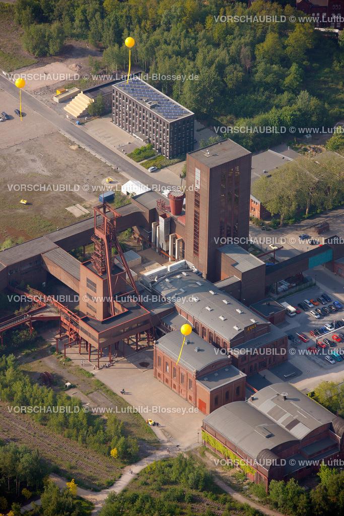 ES10056359 | Zollverein 12/6/8 Weltkulturerbe, Zollverein 3/7/10, Schachtzeichen ruhr2010,  Essen, Ruhrgebiet, Nordrhein-Westfalen, Deutschland, Europa, Foto: hans@blossey.eu, 22.05.2010