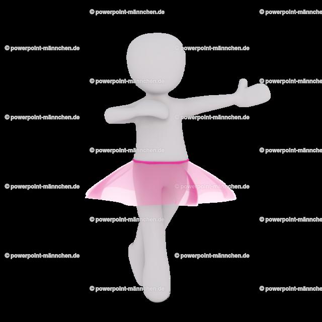ballerina in pink skirt   Quelle: https://3dman.eu   Jetzt 250 Bilder kostenlos sichern