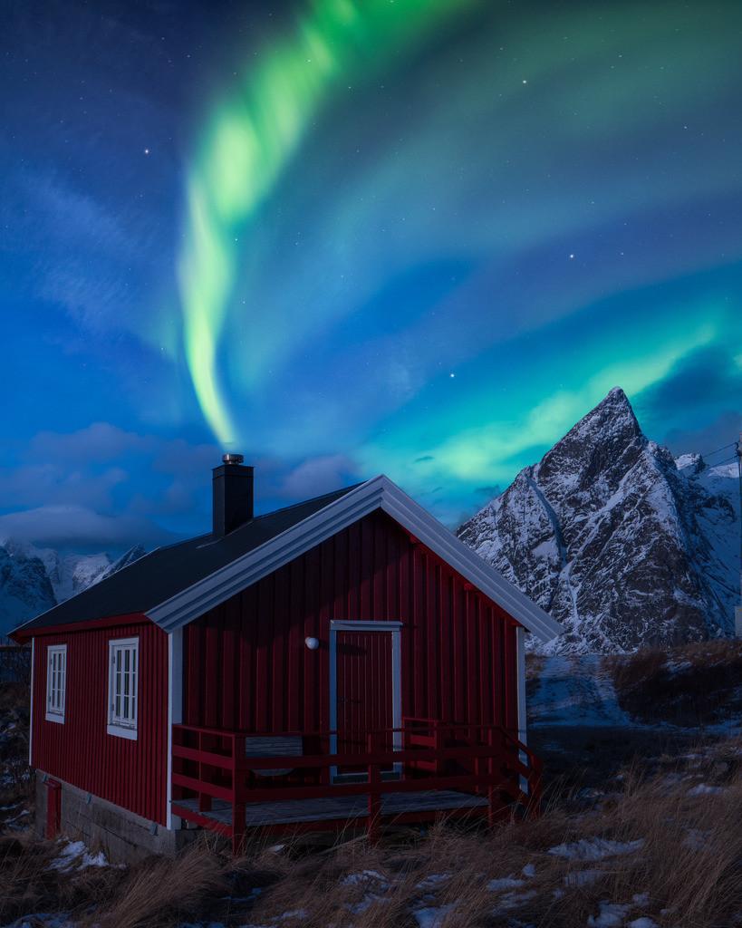 Reine | Northern lights in Norway