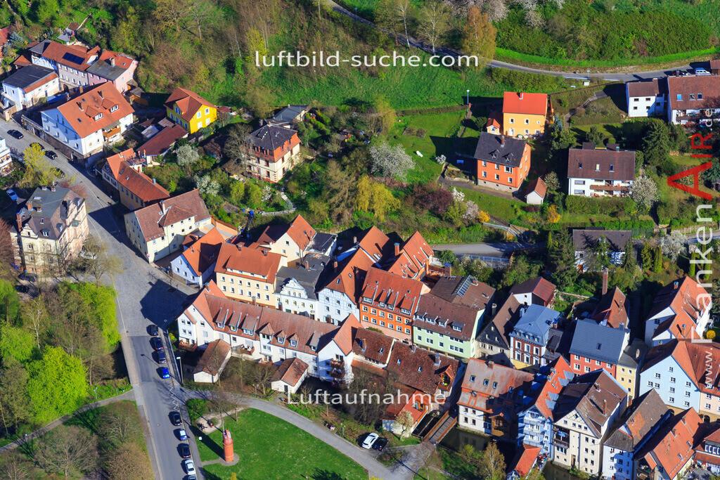kulmbach-2016-3224 | Luftbild von  Kulmbach - Luftaufnahme wurde 2016 von https://frankenair.de mittels Flugzeug (keine Drohne) erstellt - die Geschenkidee