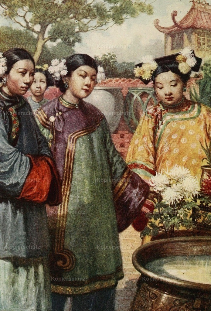 Hardy_ Norman H. (1864-1914) - China 1910 - Manchu girls