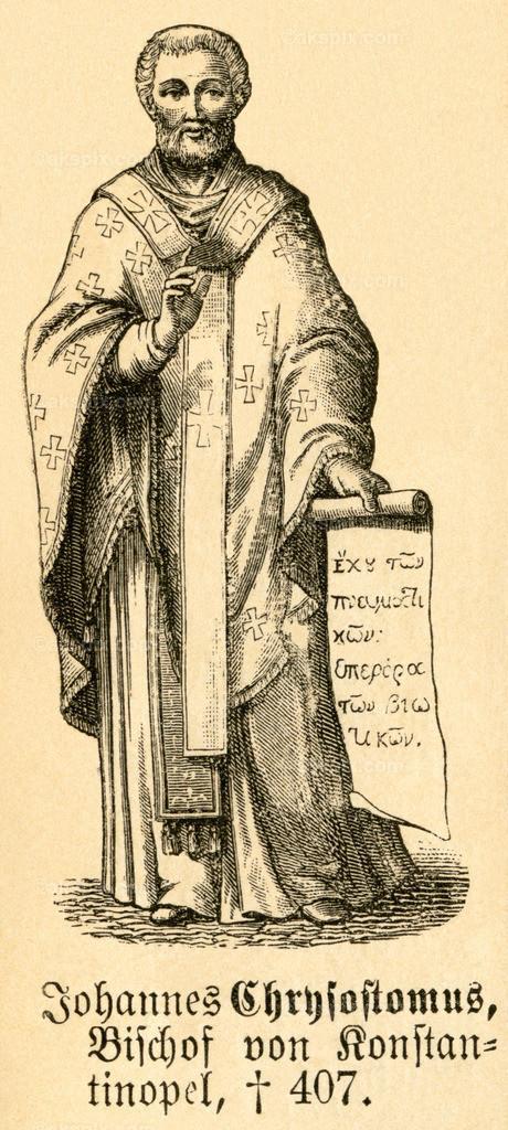 Johannes Chrysostomus / John Chrysostom   Asien,  Türkei, Antakya, Johannes Chrysostomus, Bischof von Konstantinopel, Motiv aus :